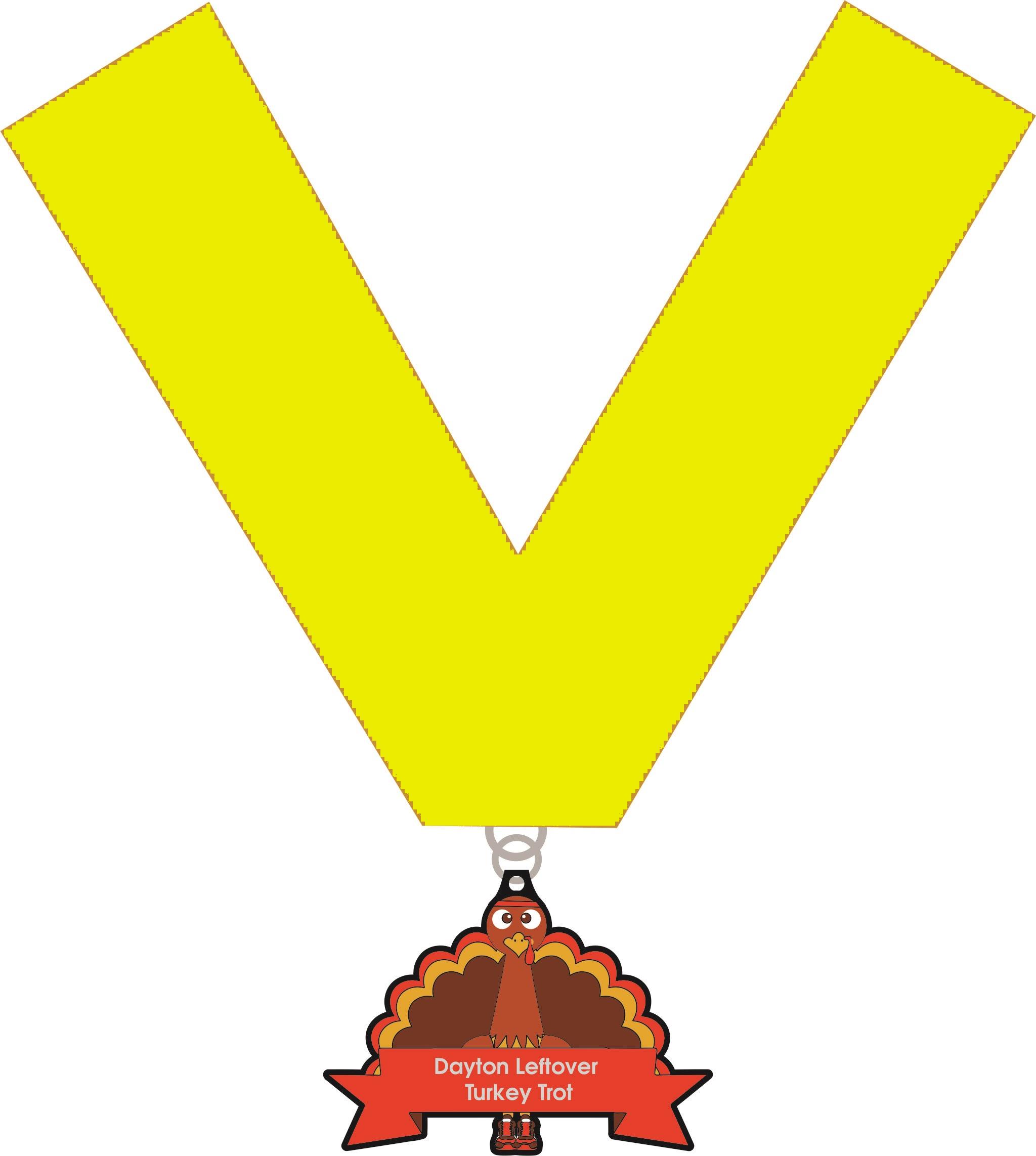 Dayton Leftover Turkey Trot Medal