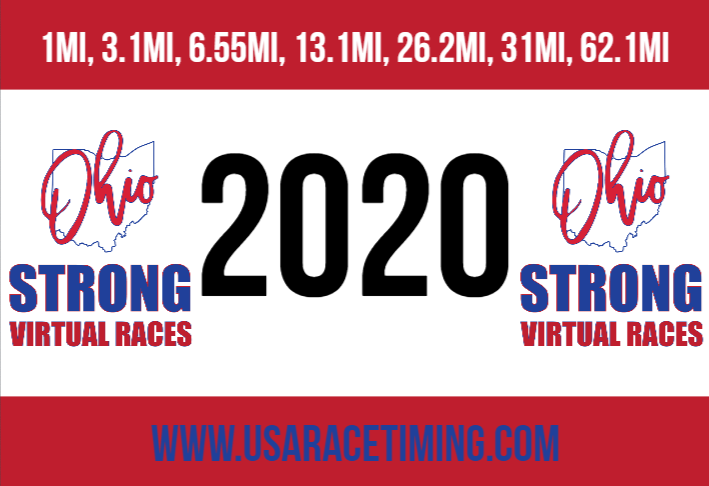 Ohio Strong Race Bib