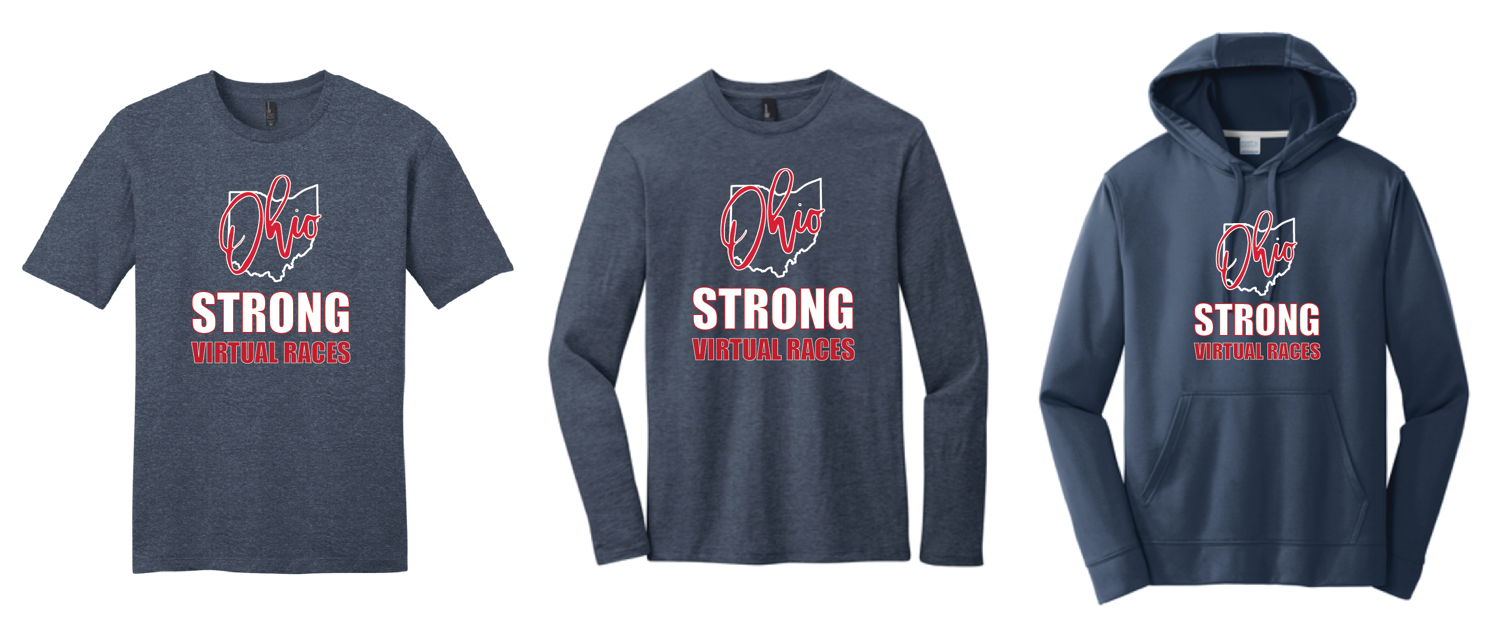 Ohio Strong Tshirt, Long Sleeve Shirt and Hooded Sweatshirt