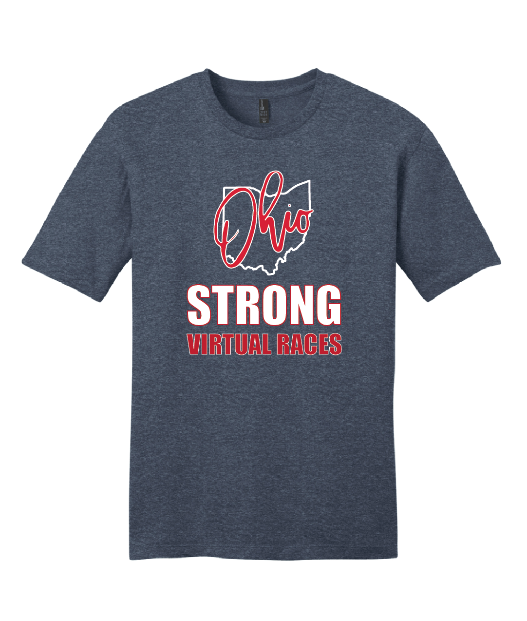 Ohio Strong Virtual Races T-shirt