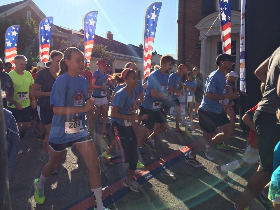Independence Day 5k Runners