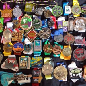 Random Garage Sale Virtual Races Medals