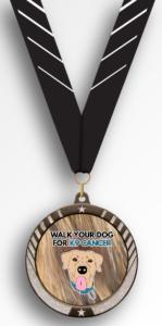 Walk Your Dog For K9 Cancer Finishers Medal
