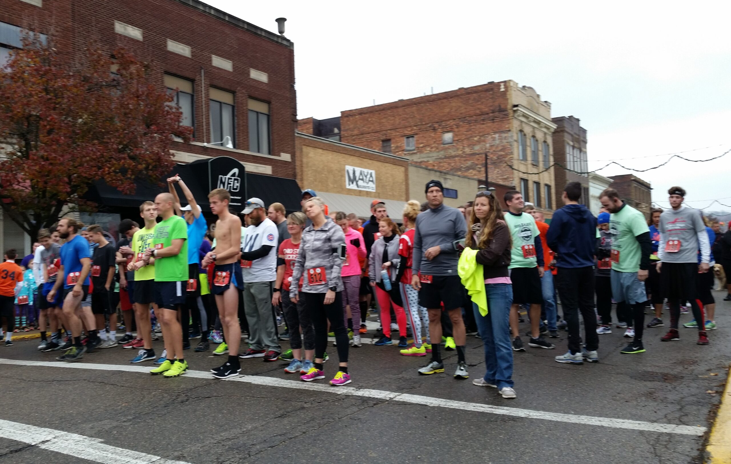 USA and Ohio Race Timing & Event Management 5k Race Start