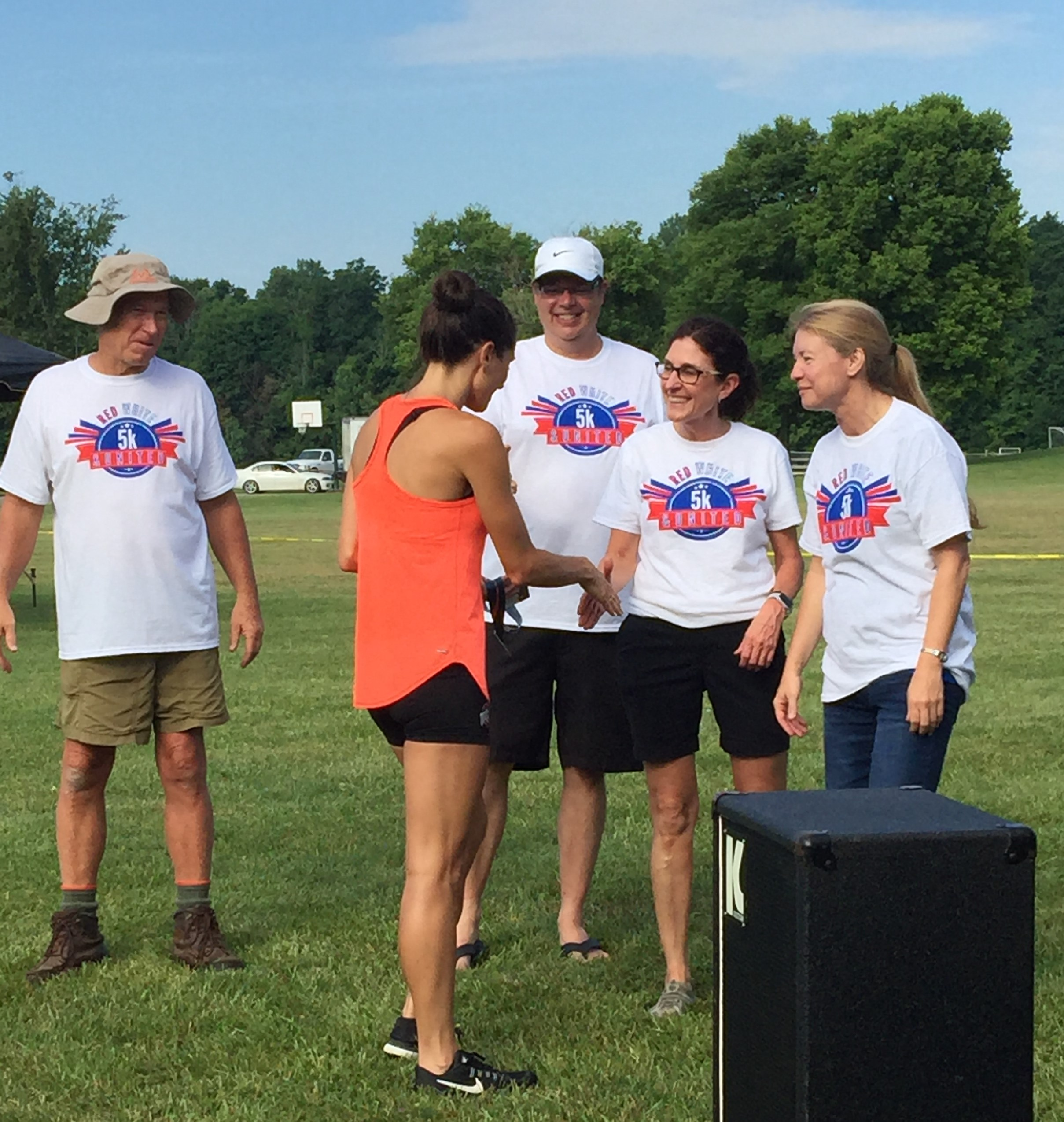 Awards Ceremony - Red, White & United 5k - United Way of Licking County Ohio - USA Race Timing & Event Management