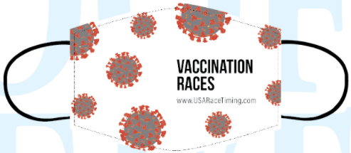 Vaccination Races Face Mask - USA Race Timing & Event Management