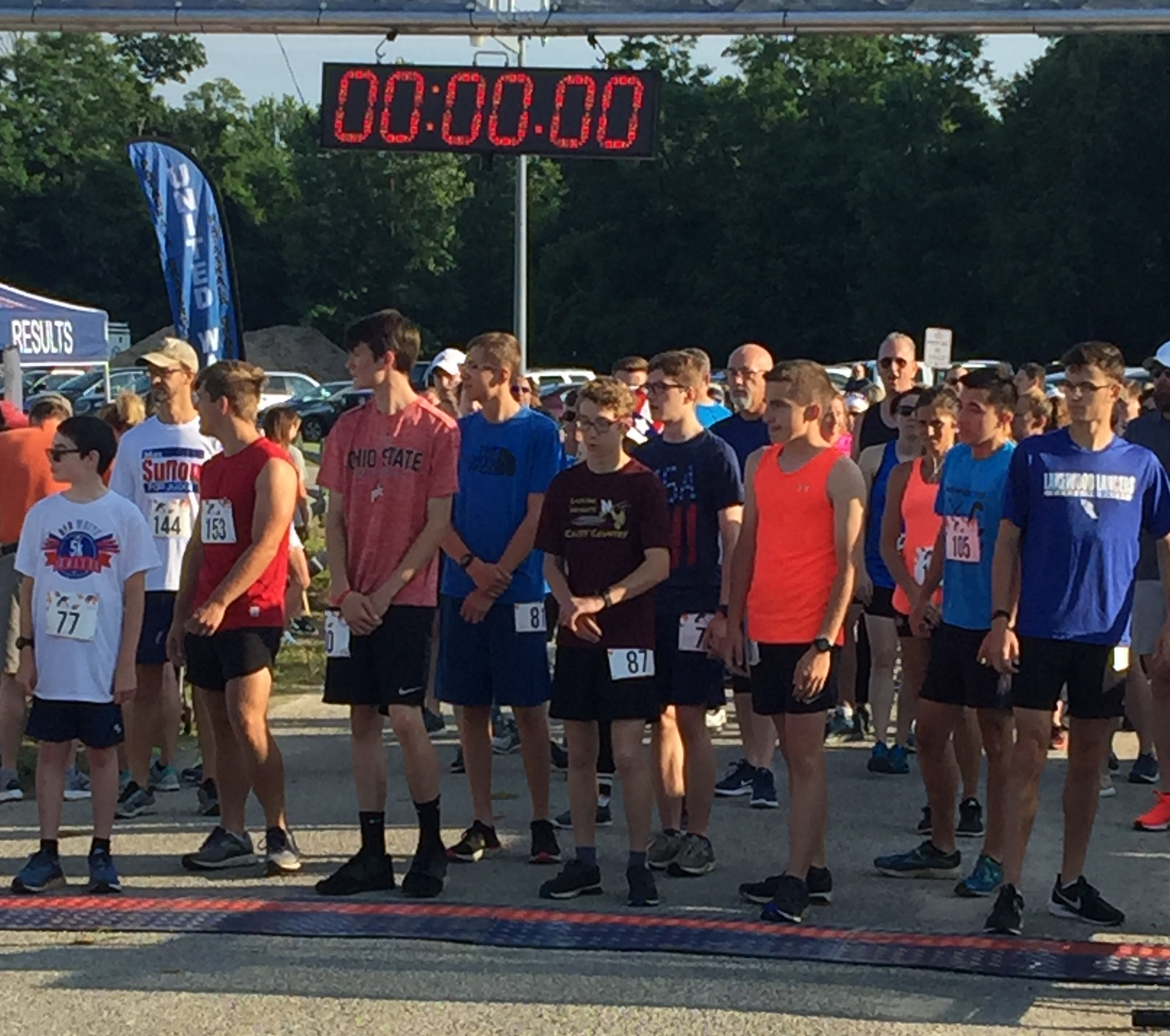 Chip Timed 5k Race Start - Ohio Race Timing & Event Management